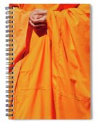 Buddhist Monk 02 Spiral Notebook