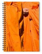 Buddhist Monks 02 Spiral Notebook