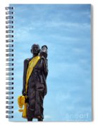 Buddhist Statue Spiral Notebook
