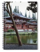 Buddhist Temple, Byodo-in Temple Spiral Notebook