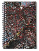 Budding Maple Tree Spiral Notebook