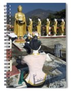 Buddist Shrine Spiral Notebook