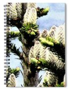 Buds 2 Abstraction Spiral Notebook