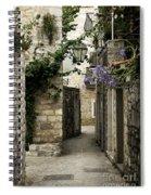 Budva Old Town Street Montenegro Spiral Notebook