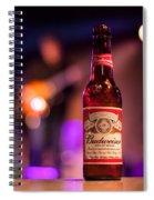 Budweiser Blues Spiral Notebook