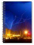 Budweiser Power Spiral Notebook