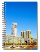 Buenos Aires Waterfront Spiral Notebook