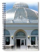 Buffalo And Erie County Botanical Gardens At Eastertime Spiral Notebook