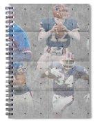 Buffalo Bills Legends Spiral Notebook
