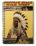 Buffalo Bills Wild West Spiral Notebook