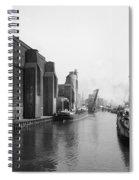 Buffalo Canal Harbor Spiral Notebook