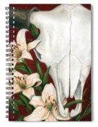 Buffalo Lilies Spiral Notebook