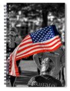 Buffalo Marathon 2013 Respect Spiral Notebook