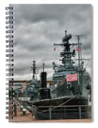 Buffalo Naval And Military Park Spiral Notebook