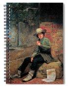 Buffalo Newsboy Spiral Notebook