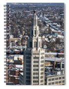Buffalo Ny Electric Building Winter 2013 Spiral Notebook