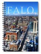 Buffalo Ny Winter 2013 Spiral Notebook