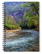 Buffalo River Downstream Spiral Notebook
