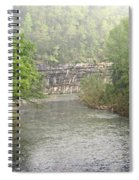 Buffalo River Mist Horizontal Spiral Notebook