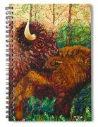 Buffaloes Spiral Notebook