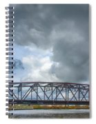 Buffalo's Ohio Street Bridge Spiral Notebook