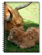 Buffie's First Bath Spiral Notebook