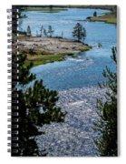 Buffs On River Spiral Notebook