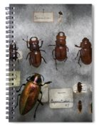 Bug Collector - The Insect Collection  Spiral Notebook