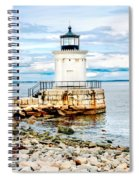 Bug Light Study Spiral Notebook