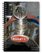 Bugatti Type 35 Spiral Notebook