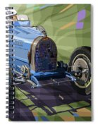 Bugatti Type 35 Spiral Notebook