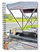 Buggy By The Road Spiral Notebook