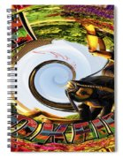 Bugs At Brookfield Zoo Polar Signage Spiral Notebook