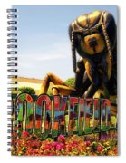 Bugs At Brookfield Zoo Signage Spiral Notebook