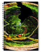 Bugs At The Zoo Grasshopper Spiral Notebook