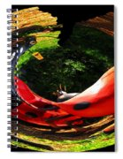 Bugs At The Zoo Lady Bug Spiral Notebook