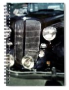 Buick At The Car Show Spiral Notebook
