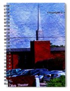 Building As A Painting Spiral Notebook
