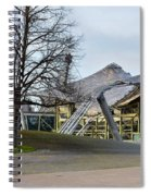 Building At Olympic Village Munich Germany Spiral Notebook