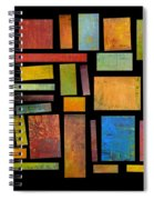 Building Blocks Three Spiral Notebook