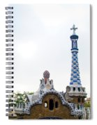 Building By Antoni Gaudi Spiral Notebook
