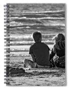 Building Dreams Monochrome Spiral Notebook