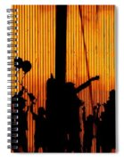 Building Silhouettes In Color Spiral Notebook