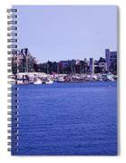Buildings At The Waterfront, Inner Spiral Notebook