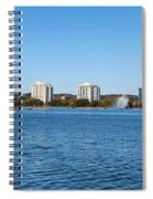 Buildings At The Waterfront, Kempenfelt Spiral Notebook
