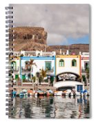 Buildings At The Waterfront, Puerto De Spiral Notebook