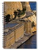 Buildings By The Mediterranean Sea Spiral Notebook