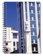 Buildings Viewed From Confederate Spiral Notebook