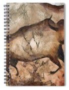 bull a la Altamira Spiral Notebook
