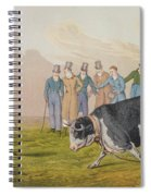Bull Baiting Spiral Notebook